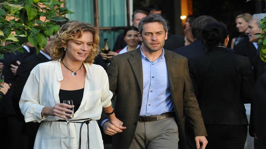 foto Antonia Liskova e Massimo Poggio