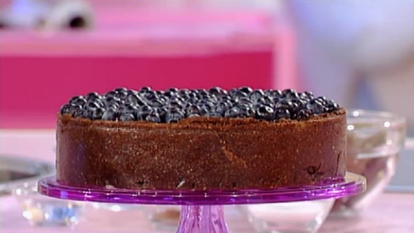 foto blueberry cheesecake