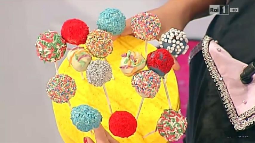 foto cake pops Carnevale Dolci dopo il Tiggì
