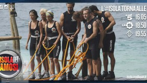 foto isola dei famosi prova leadership