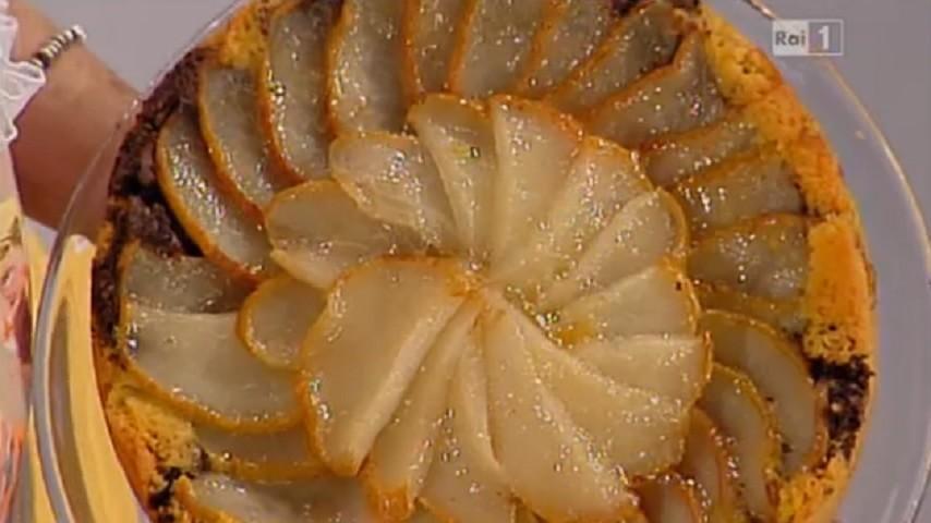 foto torta pere e cioccolato Dolci dopo il tiggì