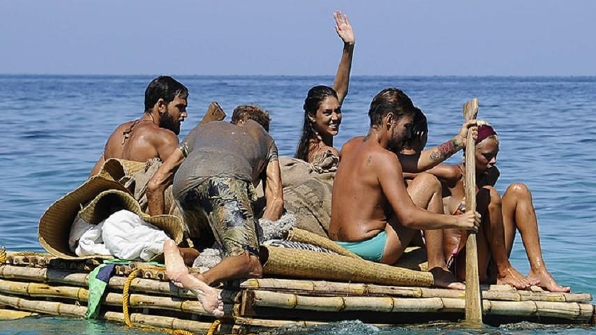 Foto naufraghi isola