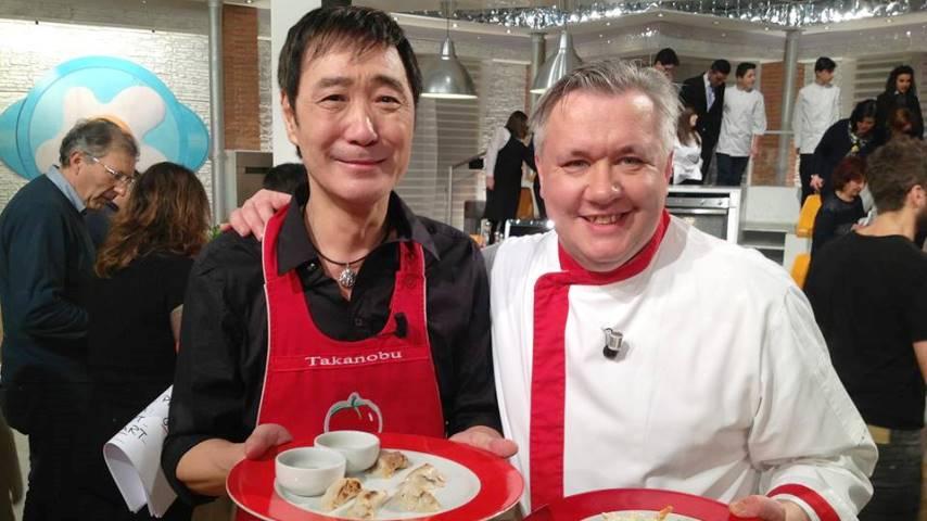 foto la prova del cuoco takanobu e zoppolatti