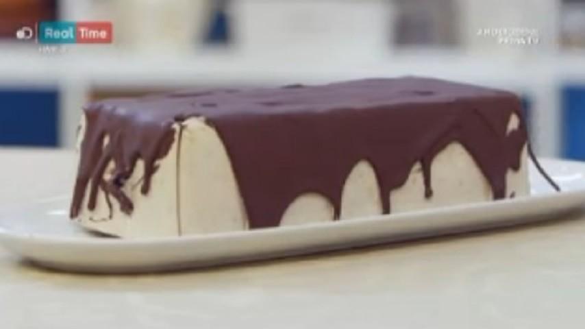 foto semifreddo banane e cioccolato