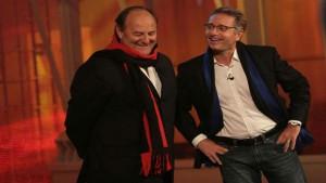 foto Paolo Bonolis e Gerry Scotti