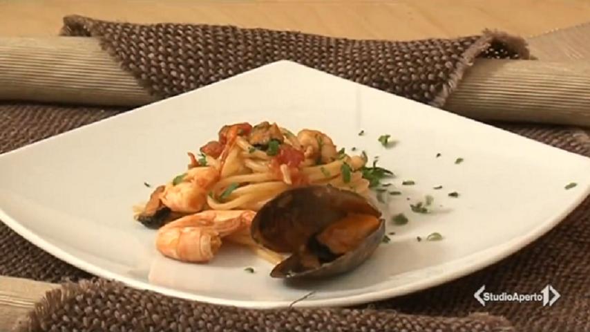 foto spaghetti di mare Cotto e Mangiato