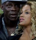 foto Mario Balotelli e Fanny Neguesha e