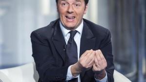 foto Presidente Matteo Renzi