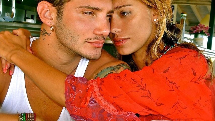 foto Belen e Stefano insieme