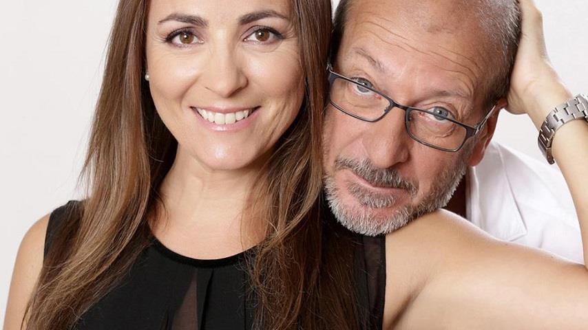 foto Camila Raznovich e Dario Vergassola