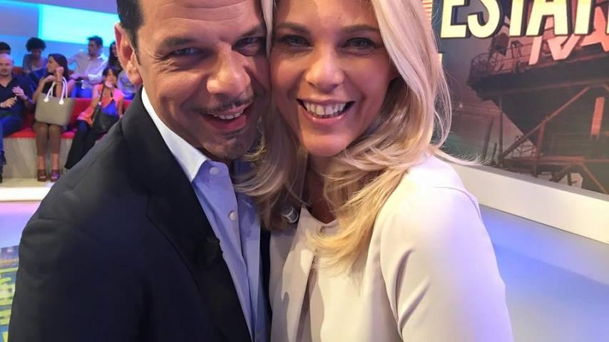 foto Salvo Sottile e Eleonora Daniele