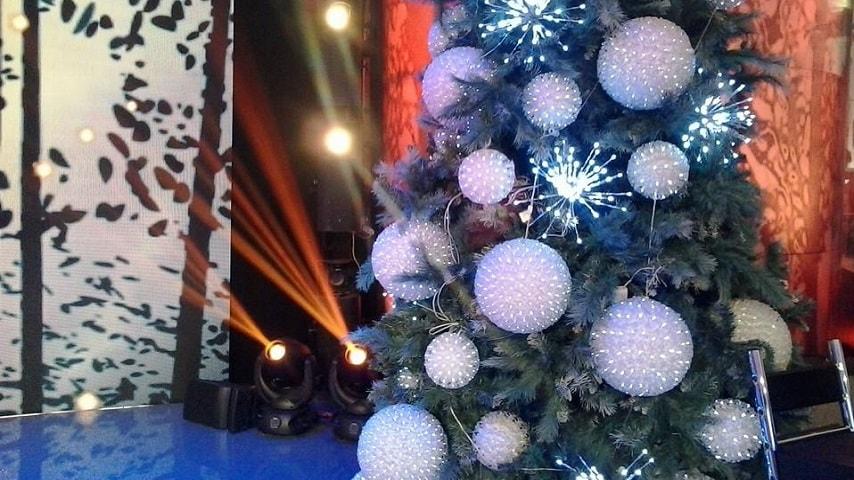 foto albero Natale Domenica In