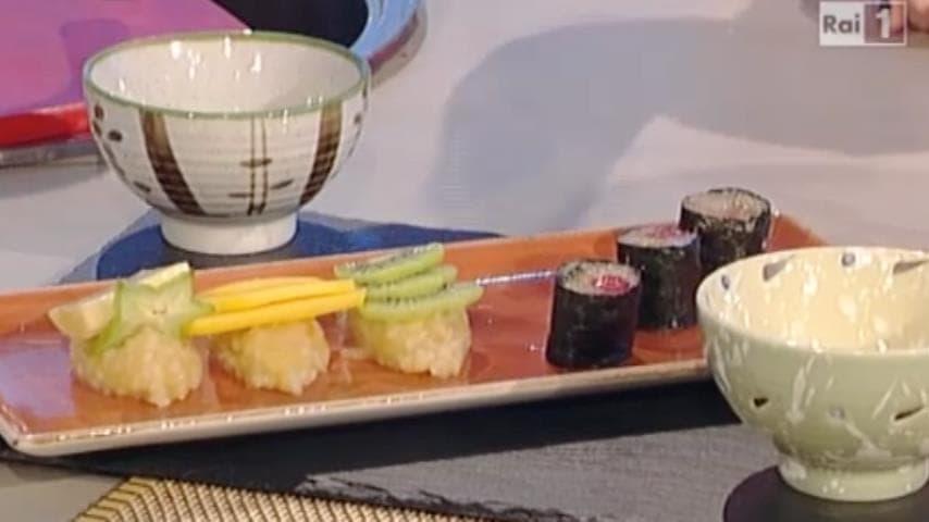 foto sushi di frutta