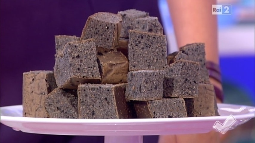 foto torta al carbone