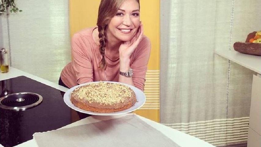 foto torta con noci e cioccolato