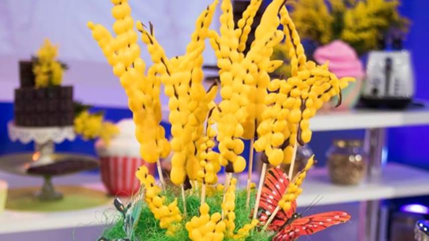 foto detto fatto mimosa di cioccolato