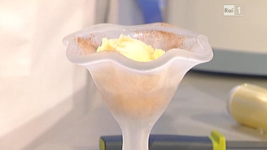 foto gelato al mandarino e cannella