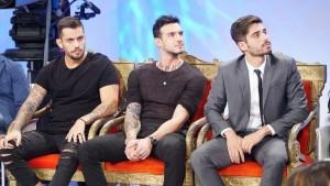 foto Lucas, Amedeo e Gianmarco a Uomini e Donne