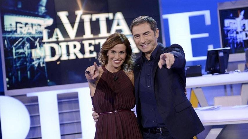 foto Marco Liorni e Cristina Parodi