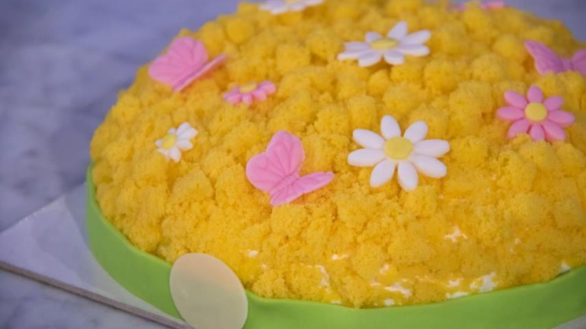 foto torta mimosa