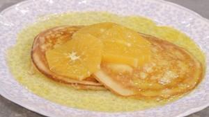 foto la cuoca bendata pancakes alle arance