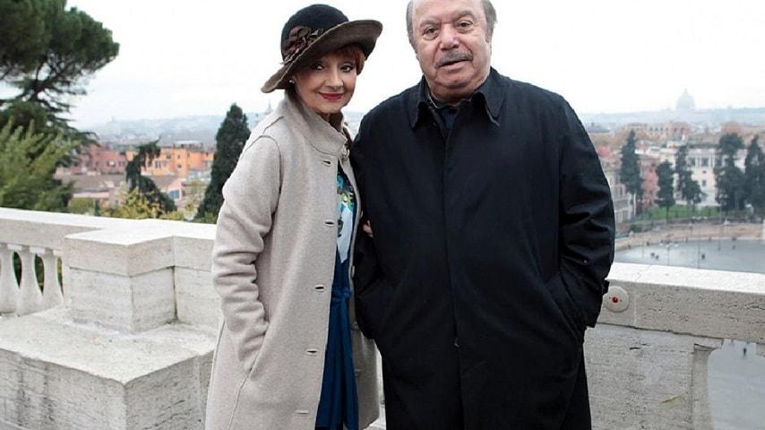 foto Lino Banfi e Milena Vukotic