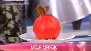 foto mela mangio