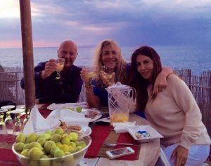foto di Mara Venier con Sabrina Ferilli