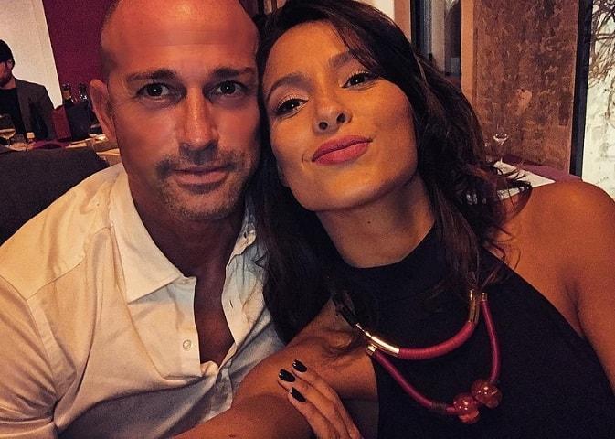 foto Stefano Bettarini e Mariana Rodriguez