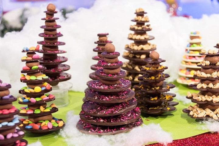 foto alberelli cioccolato