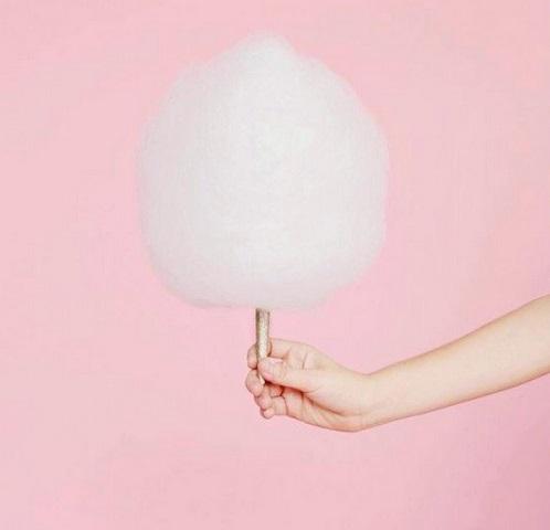 foto Giulia De Lellis zucchero filato