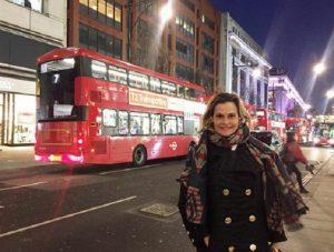 Simona Ventura a Londra