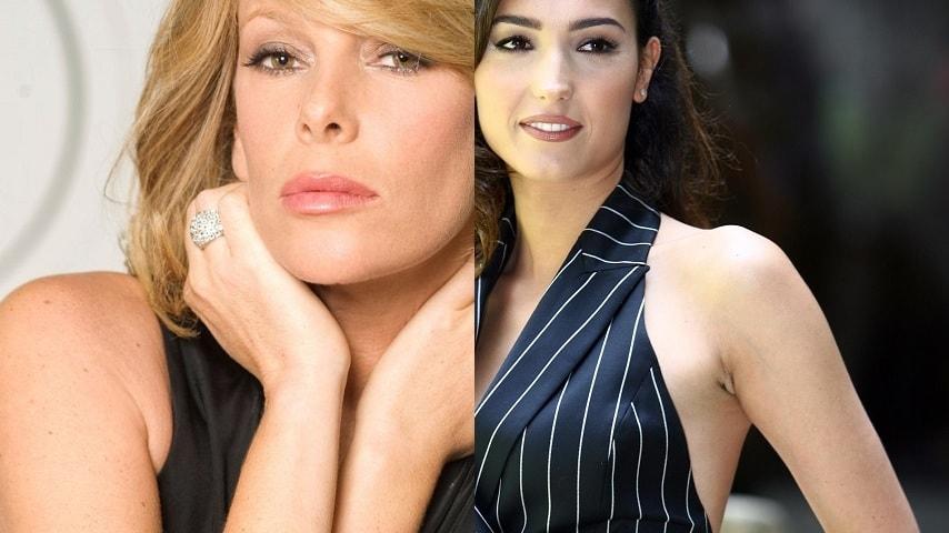 foto Alessia Marcuzzi e Caterina Balivo
