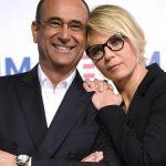 """Carlo Conti sullo scontro con Amici di Maria De Filippi: """"È buffo"""""""