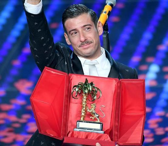 Foto Francesco Gabbani Sanremo 2017
