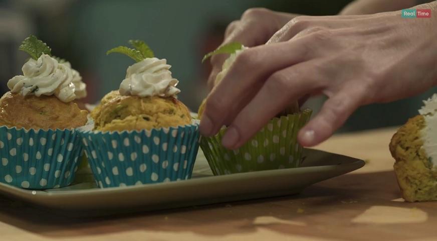 foto muffin zucchine e menta Pronto e Postato