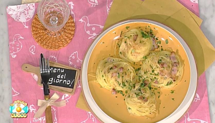 foto nidi di spaghetti