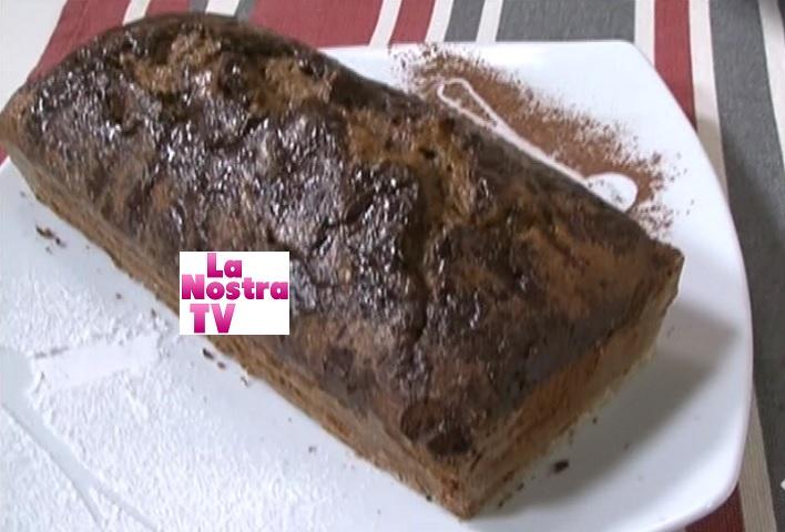 foto plumcake cotto e mangiato