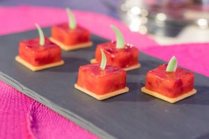 foto strawberry cubes