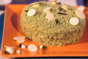 foto torta al the matcha