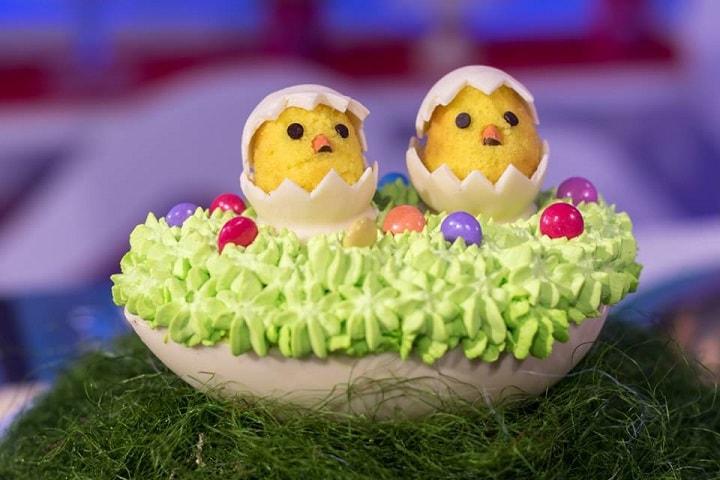 foto torta nell'uovo