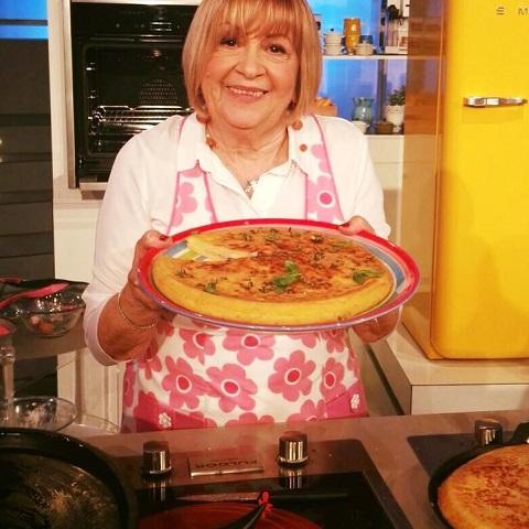 foto pizza patate cotto e scamorza