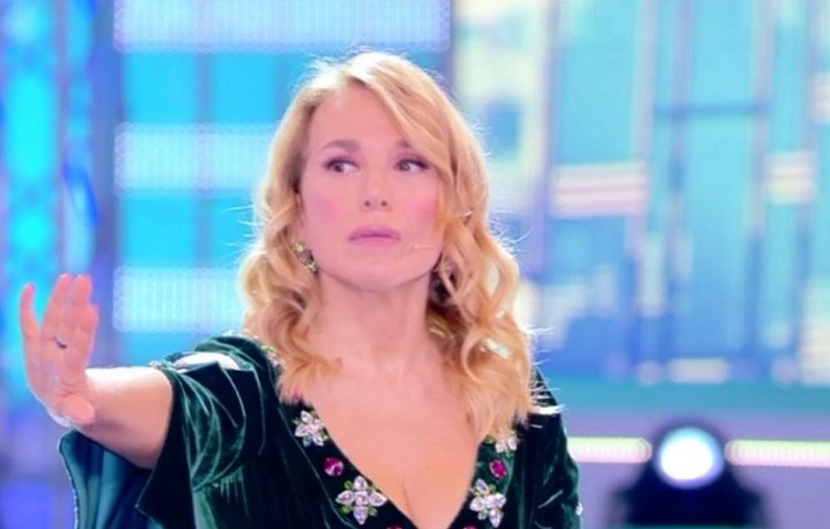 foto Barbara d'Urso in diretta