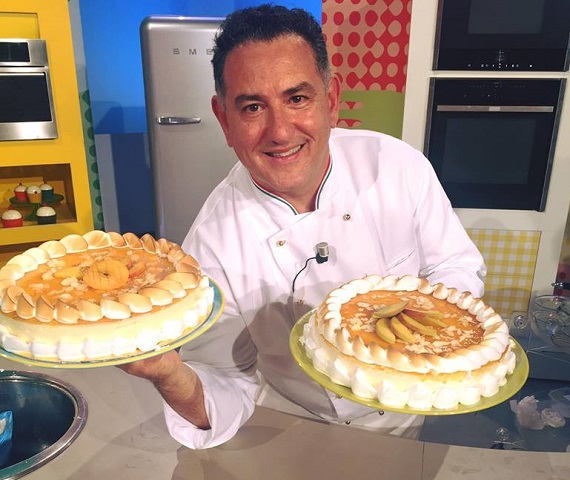 foto Sal De Riso torta pesche