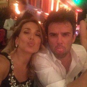 Foto Barbara D'Urso e Raúl Peña