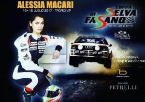 Alessia Macari si prepara per diventare la madrina della coppa di Selva Fasano