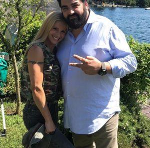 foto Michelle Hunziker e Antonino Cannavaciuolo