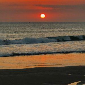 foto Raz Degan tramonto