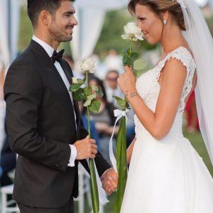 foto Tara e Cristian matrimonio