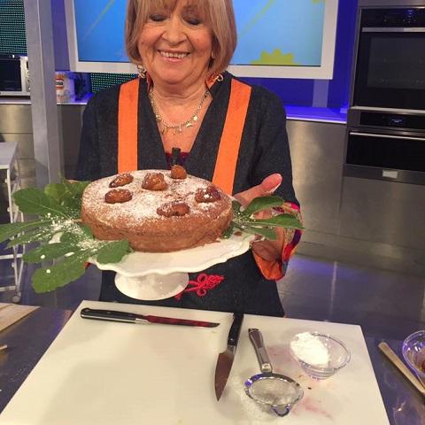 foto Anna Moroni torta fichi e mandorle